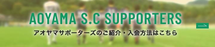 アオヤマサッカークラブ サポーターズ